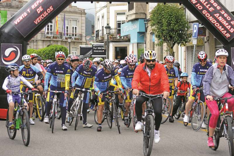 Miguel Indurain e Aida García participarán na tradicional marcha que organiza o Club Ciclista Gondomar