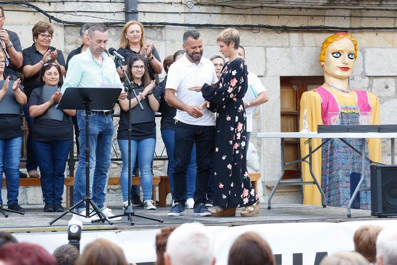 Nava Castro pronuncia o pregón das Festas do Monte en homenaxe ao espírito mariñeiro e a pegada histórica da Guarda