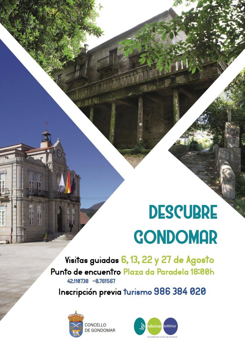 O Pazo de Gondomar, foco de interese para veciños e visitantes