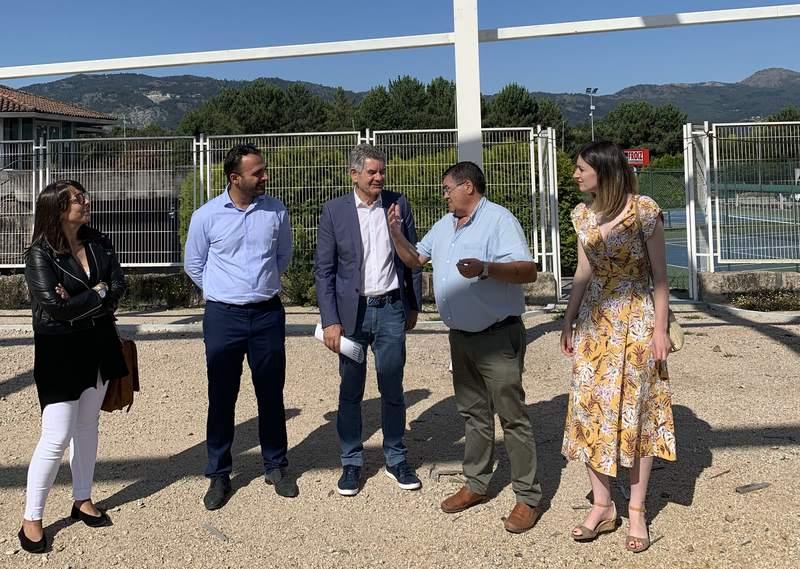 As pistas de atletismo do Polígono da Granxa serán inauguradas no último trimestre deste ano