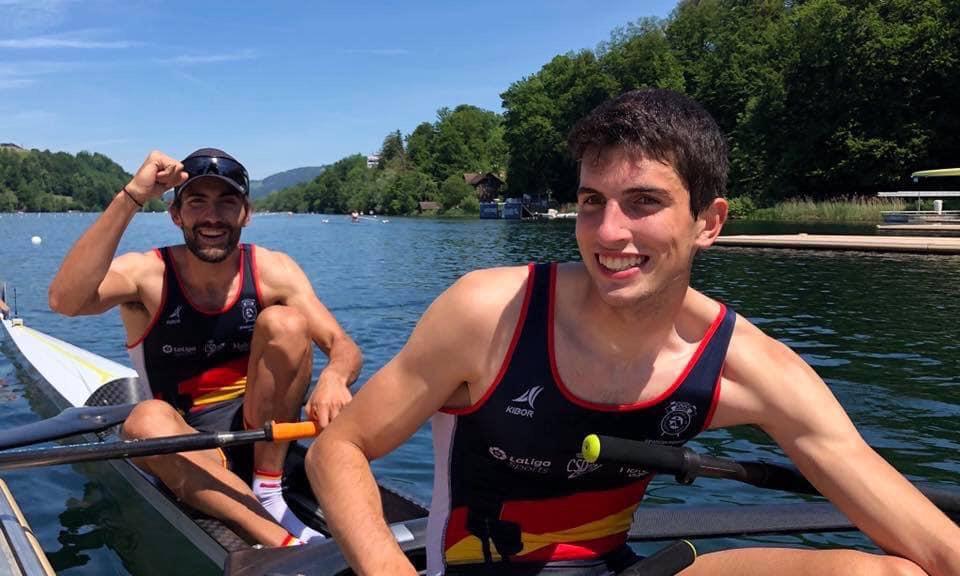 Rodrigo Conce e Manel Balastegui na final do Mundial e clasifícanse para a Olimpiada de Tokio