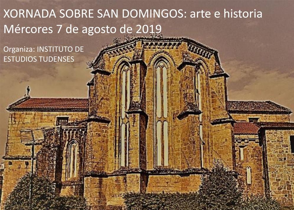 O Instituto de Estudos Tudenses organiza unha xornada na igrexa de San Domingos de Tui baixo o título San Doimingos arte e historia