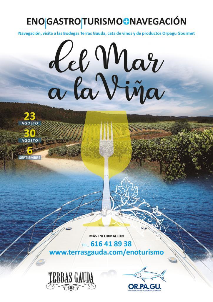 Orpagu e Terras Gauda unen o mar e o viño nunha iniciativa turística pioneira