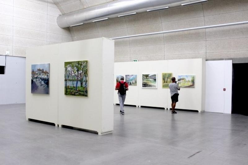 A Bienal de Arte de Cerveira acolle as máis de 50 obras do Certame de pintura Antonio Fernández 2019