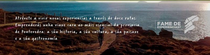 """Doce rutas turísticas para espertar a """"Fame de Expariencias"""" dos visitantes da provincia de Pontevedra"""