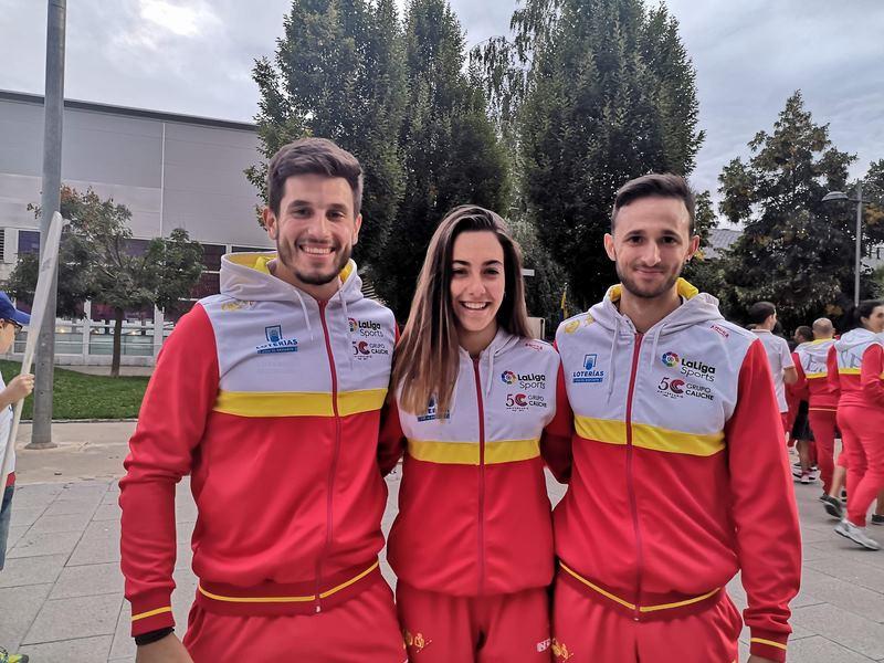 Tres galegos no Mundial de Slalom e Descenso de Augas Bravas