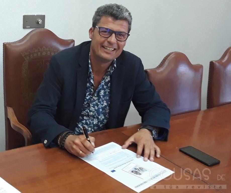 Alcalde de Baiona Carlos Gómez ·