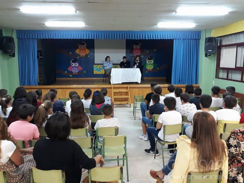 O CEIP de Atios da a benvida ao novo curso escolar no acto de formal apertura con representantes de todos os Centros do Porriño