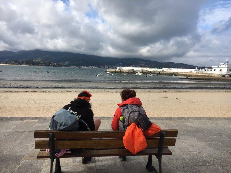 Nigrán sinaliza O Camiño Portugués pola Costa na súa variante -non oficial- polo litoral