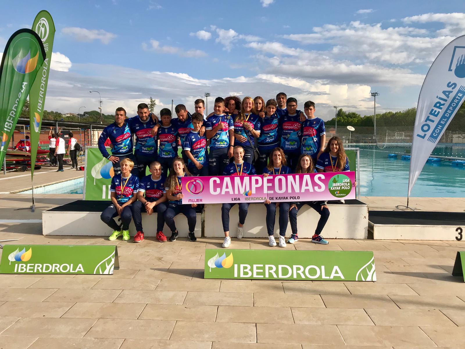 O equipo feminino do Penedo Te Importa proclámase campión de españa