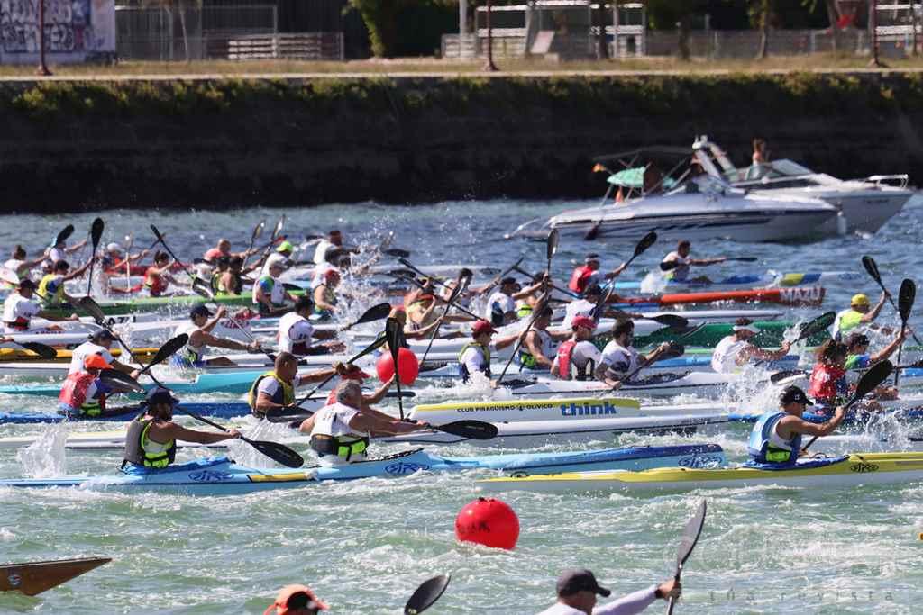 O Campionato Galego celebrado en vigo pechou a tempada de kaiak de mar