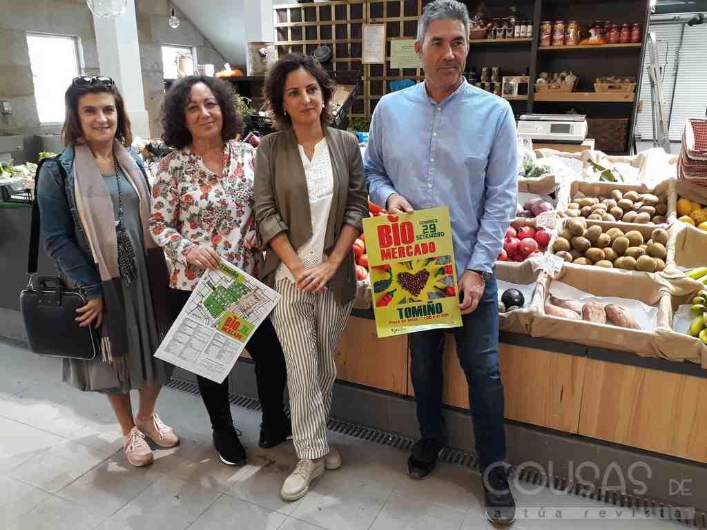 Tomiño celebra o seu quinto Biomercado con alimentos saudables, artesanía e unha ampla oferta de ocio