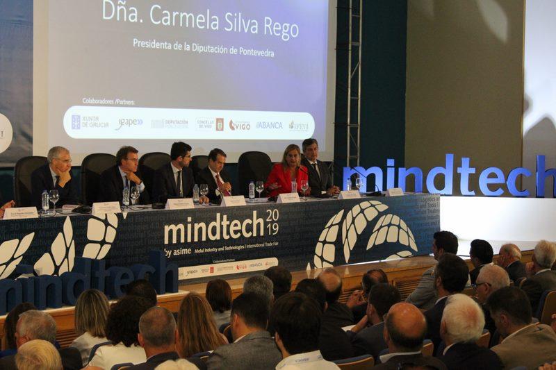 """""""As persoas teñen que seguir estando no centro da revolución tecnolóxica"""", Carmela Silva na inauguración da Mindtech"""