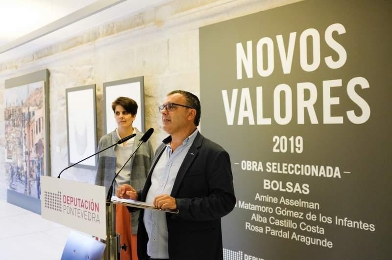 A mostra Novos Valores 2019 pecha as súas portas no Museo de Pontevedra con preto de 7.500 visitas