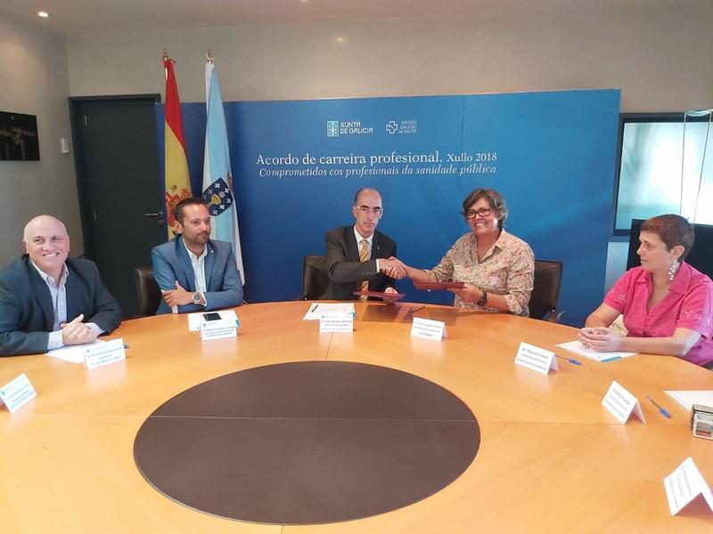 Acordo entre Xunta e Concello de Porriño para axilizar os prazos de execución da ampliación do Centro de Saúde