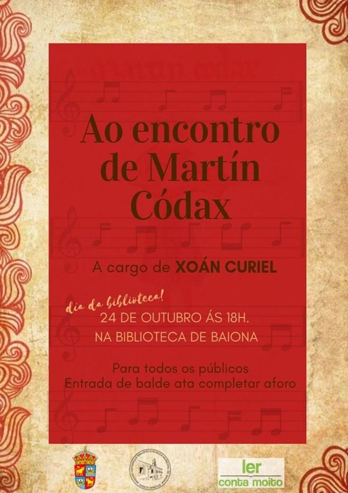 O Pergamino Vindel protagonista en Baiona no Día da Biblioteca