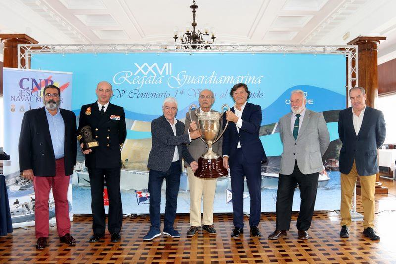 A 27ª Edición da Regata Guardiamarina conmemora o 500 aniversario da Volta ao Mundo Magallanes – Elcano