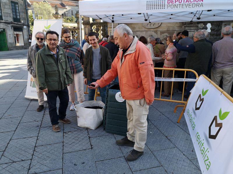 A carpa Revitaliza de compostaxe chega esta semana á comarca do Morrazo