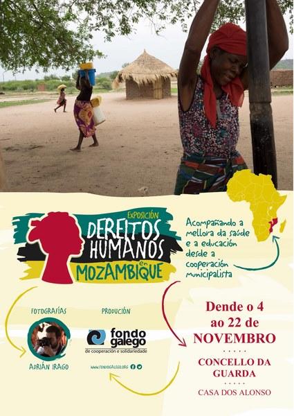 A Guarda exposición do Fondo Galego sobre Dereitos Humanos en Mozambique