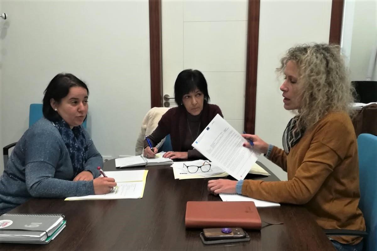 Servicios Sociais do Val Miñor únense para traballar no seu proxecto común
