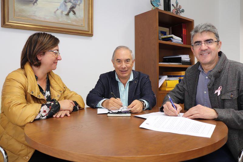 O Concello da Guarda e o Mecalia Atlético Guardés asinan un convenio para promover, fomentar e incentivar a práctica deportiva do balonmán