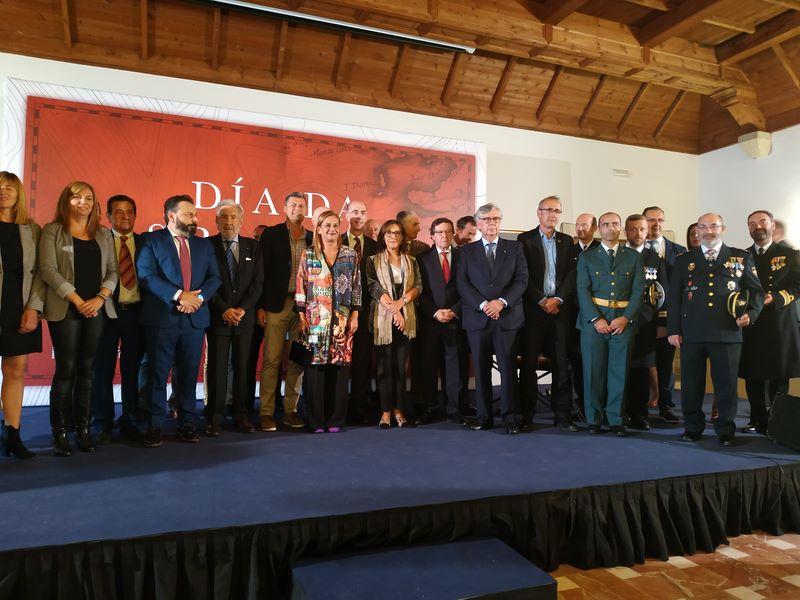 """Silva reclama en Baiona, no Día da Hispanidade, rachar co proteccionismo e liderar un novo modelo """"que tenda pontes"""" e garanta """"un futuro integrador"""""""