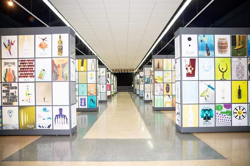 Terras Gauda reúne nunha exposición única 1.435 carteis de 66 países de todo o mundo
