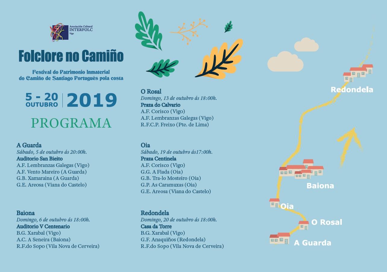 Presentación da I Edición do Festival Folclore no Camiño Portugués da Costa