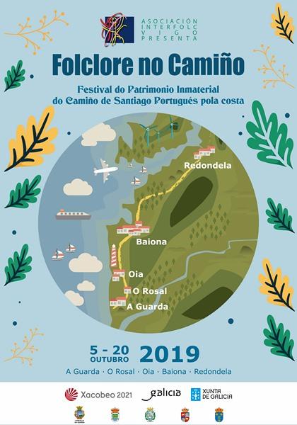 """O Festival """"Foclore no Camiño"""" chega á Guarda"""