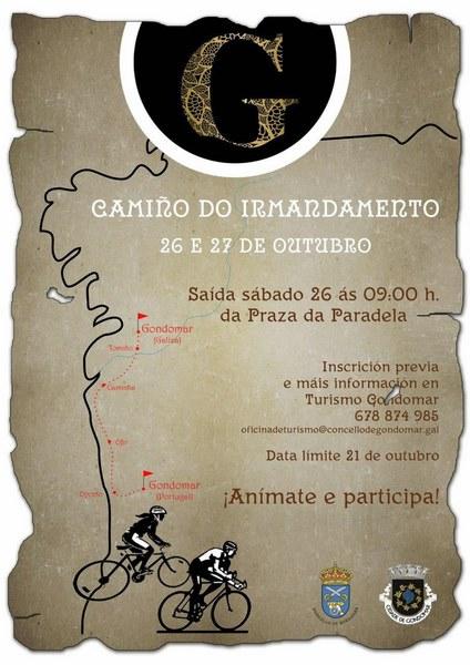 """O Gondomar español e o portugués uniranse por un roteiro de longo percorrido no """"I Camiño do Irmandamento"""""""