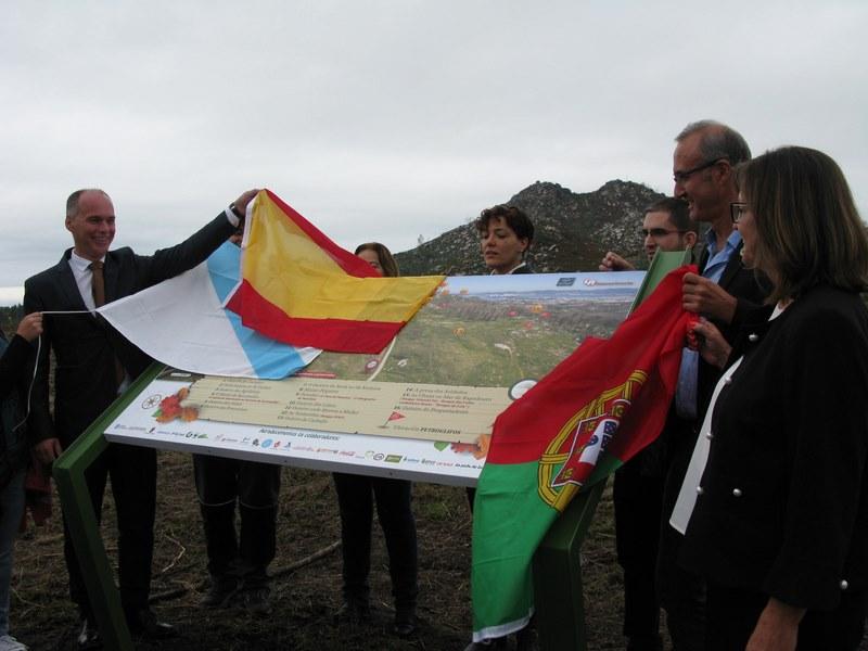 O Alcalde de Nigrán e a súa homóloga de Castanheira de Pera propoñen un irmandamento oficial entre os dous municipios unidos pola traxedia dos incendios de 2017