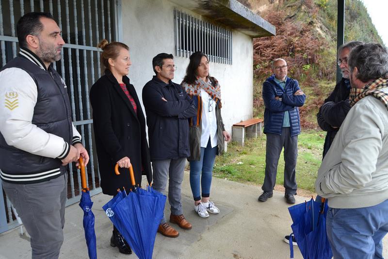 Salceda estudia opcións para novas instalacións deportivas