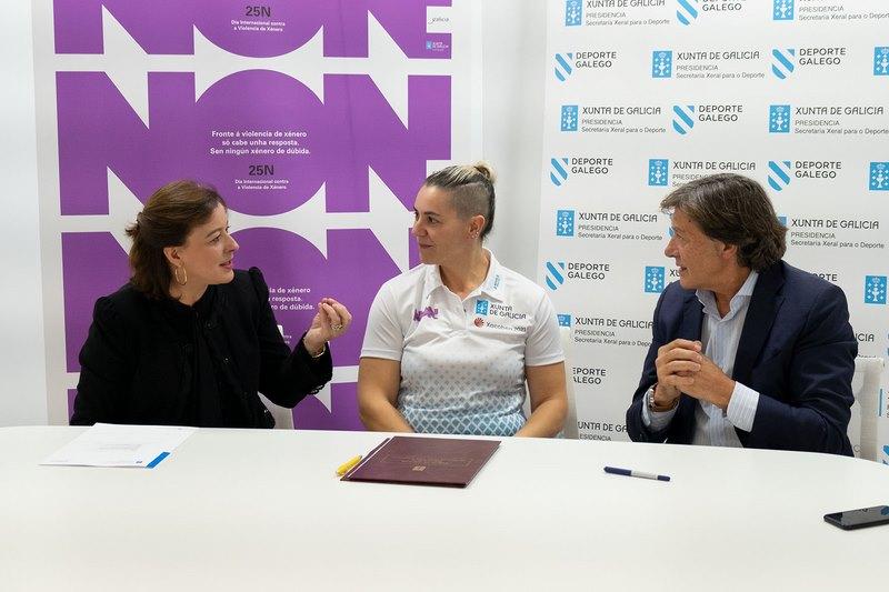 Vicky Alonso e Susana Rodríguez Gacio tamén 'fichan' pola Xunta na súa campaña contra a violencia de xénero