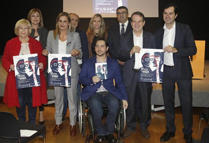 A Escola de Cantería elabora as catro estatuíllas que se entregarán no Festival de Cine Inclusivo de Vigo (VIIFF)