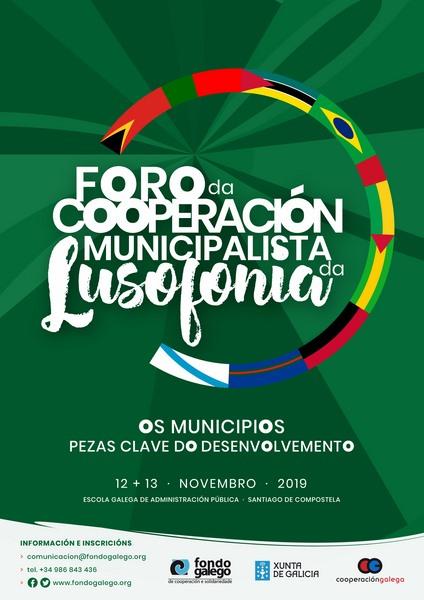 Os principais países de fala portuguesa estarán no Foro da Cooperación Municipalista da Lusofonía