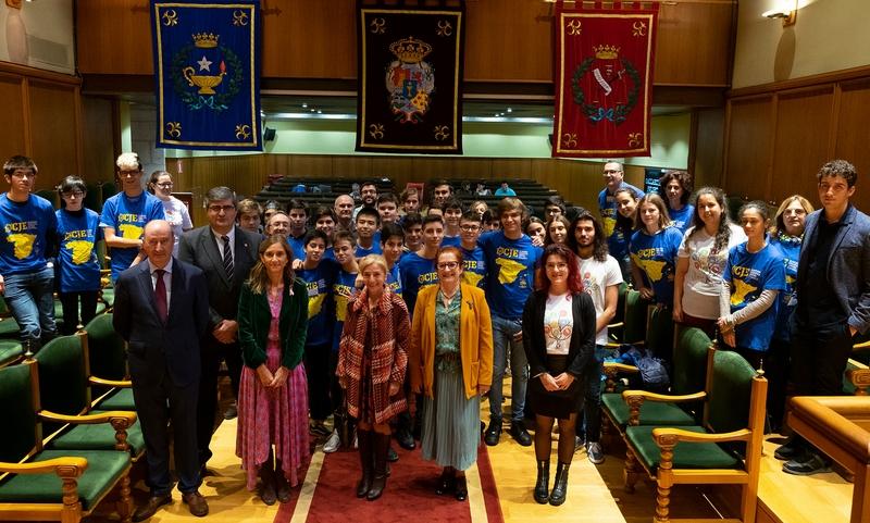 Santiago de Compostela acolle a final da I Olimpíada Científica Xuvenil Española