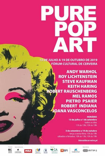 Joana Vasconcellos e os grandes nomes da POP ART xuntos no Museo Bienal de Cerveira