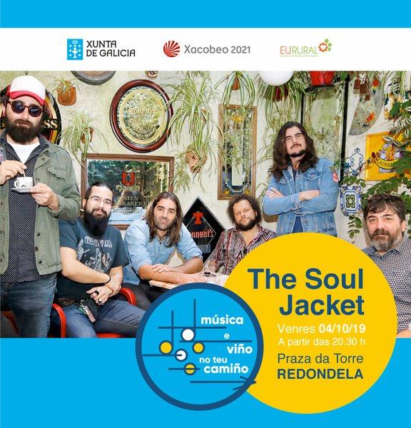 A música de The Soul Jacket da o pistoletazo de daída ao proxecto 'Música e Viño no Teu Camiño' en Redondela