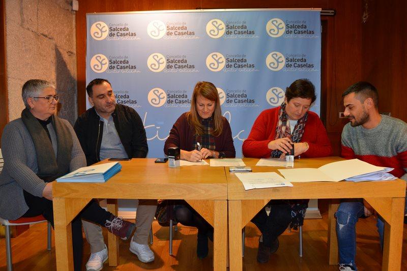 Un total de 25 Entidades de Salceda reciben algo máis de 90.000 euros do Concello