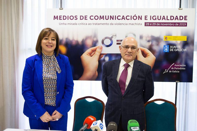 A Xunta apela aos medios de comunicación para promover a igualdade e previr e loitar contra a violencia de xénero