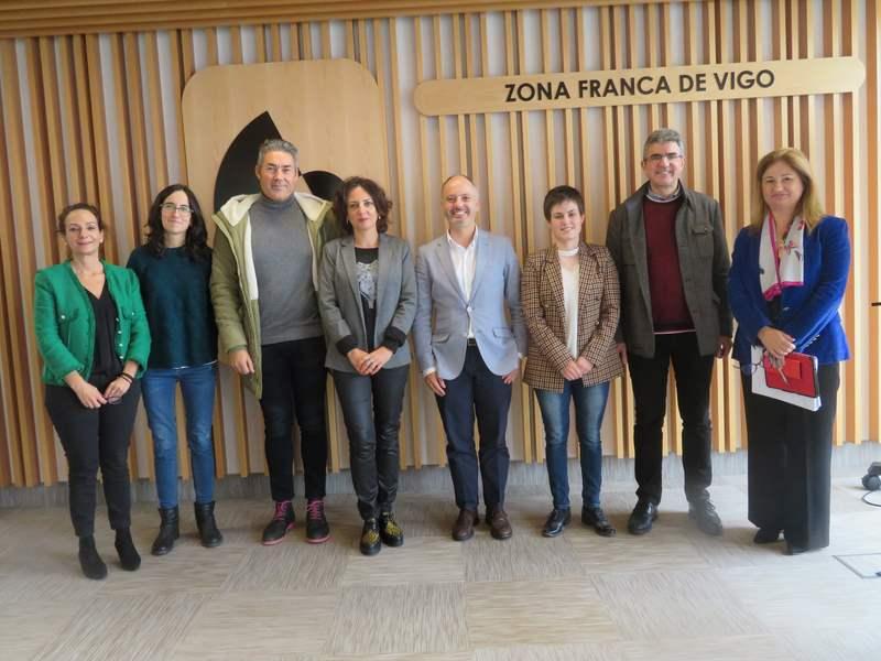 A actividade hortofrutícola no Baixo Miño obxectivo dunha reunión na Zona Franca