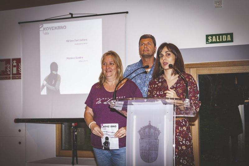Baiona presenta ' Novembro Lila', un programa deseñado para dar visibilidade á secuela da violencia machista