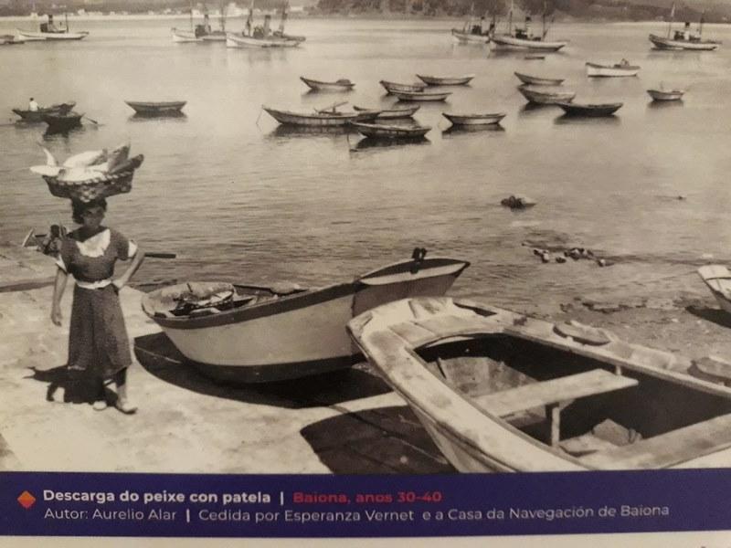 Chega a Nigrán a mostra itinerante 'O mar tamén ten mulleres'