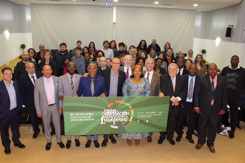 Nigrán participa en Santiago de Compostela no Foro da Cooperación Municipalista da Lusofonía