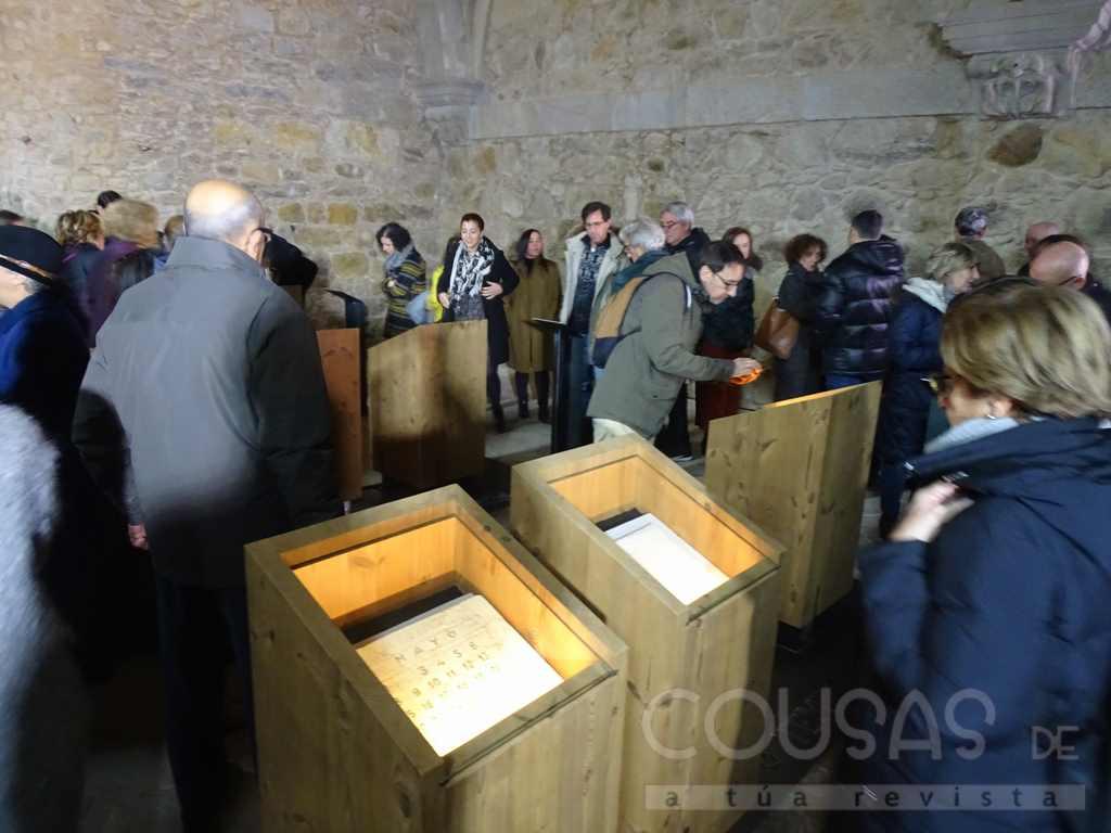 O Real Mosteiro de Oia inaugura a mostra