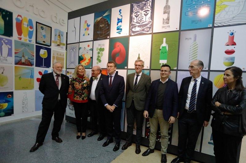 Terras Gauda entrega os Premios da 14ª Bienal Internacional de Cartelismo 'Francisco Mantecón'