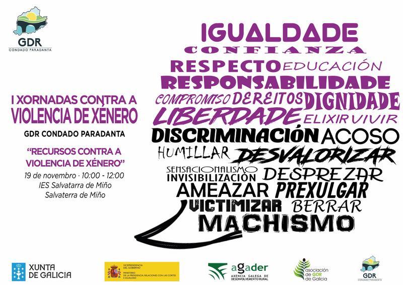 O Concello de Salvaterra de Miño, en colaboración co IES de Salvaterra organiza unha xornada de concienciación sobre a Violencia de Xénero.