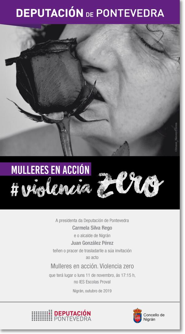 O programa 'Mulleres en acción. Violencia Zero' chega a Nigrán