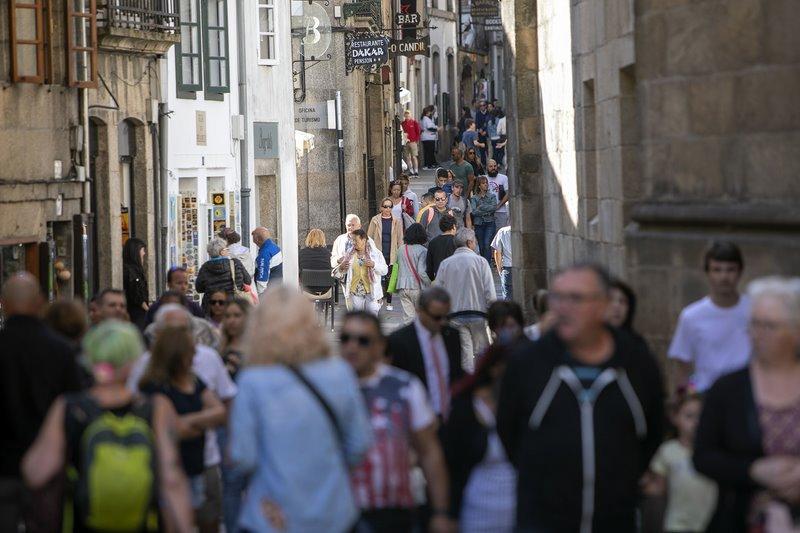 Galicia acada as mellores cifras de turismo da súa historia tras subir un 5,6% máis que a media estatal