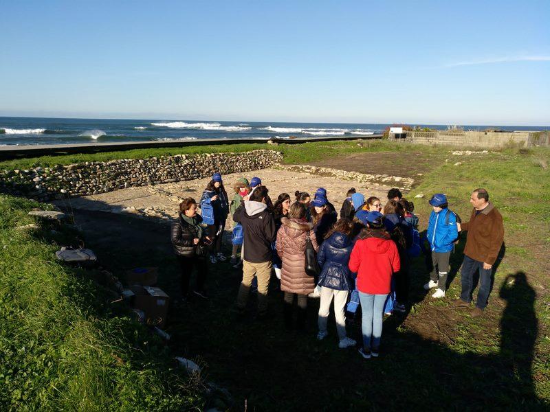"""O proxecto """"A Guarda, Mar de Sal"""" permitiu a restauración e consolidación definitiva das estruturas das Salinas Romanas da Zona do Seixal na Guarda."""